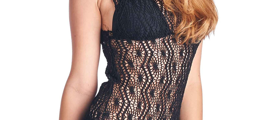 Women's Spider Tank Swimwear Cover-Up Beach Dress Made in the USA