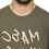 Thumbnail: Men's Green Printed Cotton Round Neck Tshirt