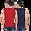 Thumbnail: Men's Solid Round Neck Cotton Muscle Vest Pack of 2