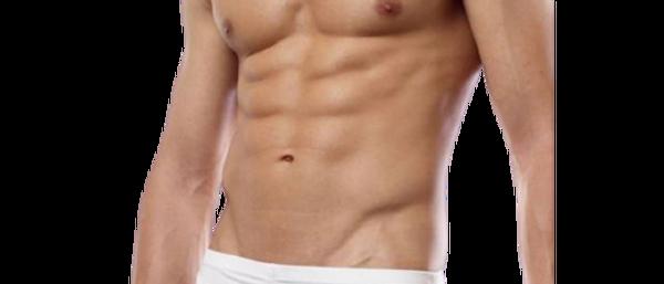 Men's White Cotton Spandex Solid Brief