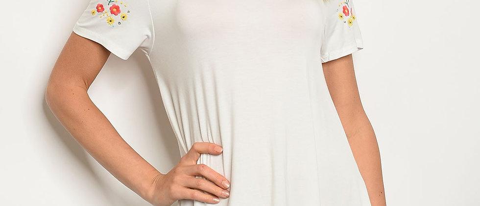 Womens Off White Dress