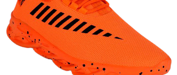 Stylish Orange Sports & Gym Shoes