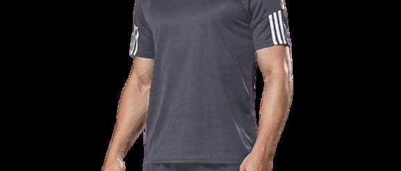 Men's Sports T Shirt & Shorts Set - Grey