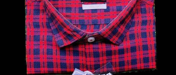 Latest Men Red Checks Shirt