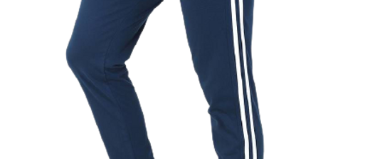 Men's Cotton Track Pant With Side Tape