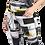 Thumbnail: Women Black & White Solid Tight Pant