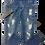 Thumbnail: Men's Stylish Blue & White Jeans