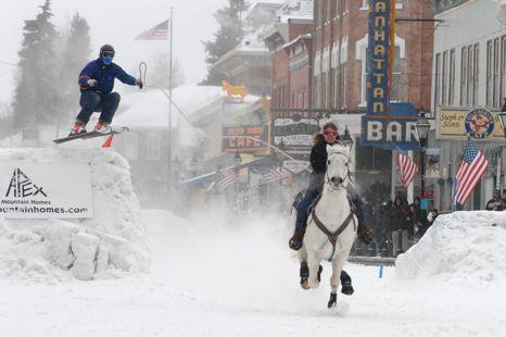 ski jouring