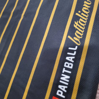 PINSTRIPE - BLACK