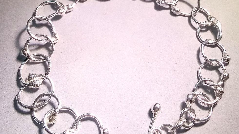 Fused Sterling Bracelet