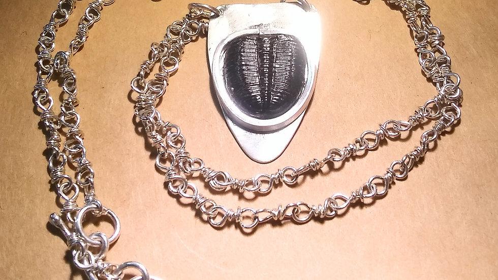 Trilobite Pendant & Chain