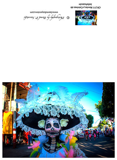 Beautiful Catrina's of Mexico, Ixtlahuacan N-211