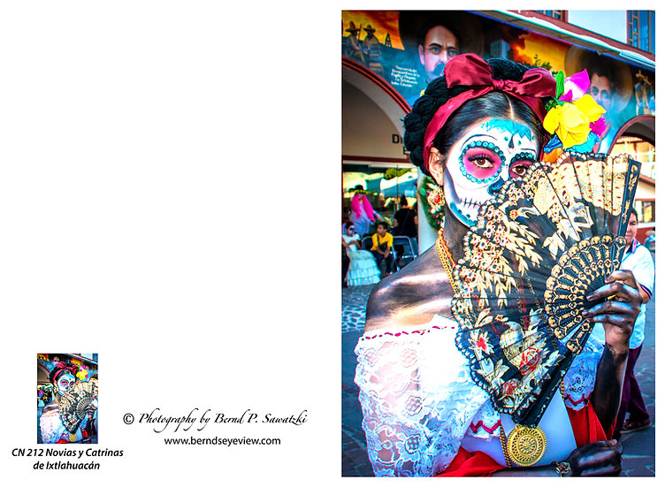 Beautiful Catrina's of Mexico, Ixtlahuacan N-212