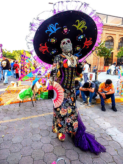 Beautiful Catrina's of Mexico, Ixtlahuacan N-213