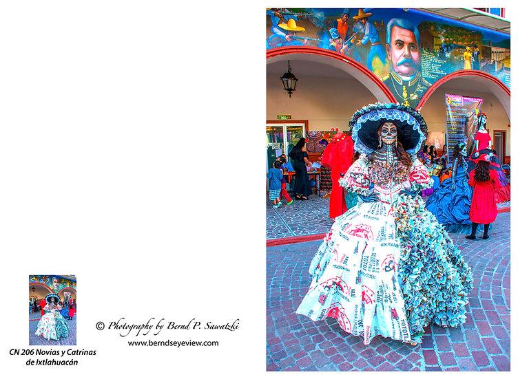 Beautiful Catrina's of Mexico, Ixtlahuacan N-206