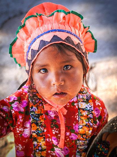 Tamahuaran Girl 609