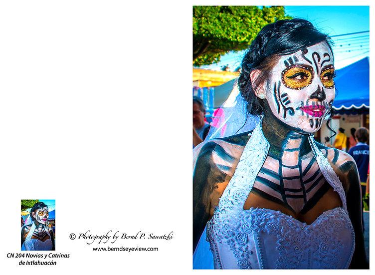Beautiful Catrina's of Mexico, Ixtlahuacan N-204