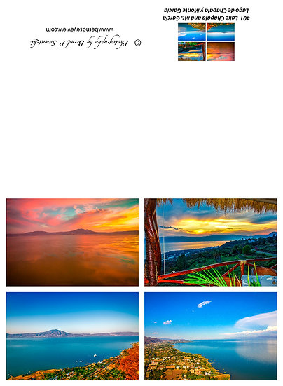 Views, Lake Chapala / Vistas, Lago de Chapala 401