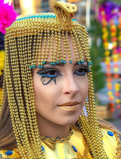 Cleopatra, Day of the Dead / Cleopatra en el Día de los Muertos D-206