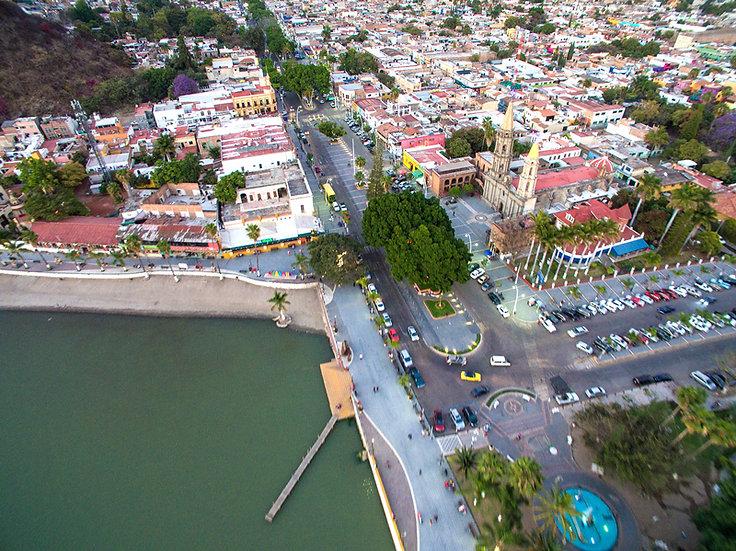 Aerial Chapala / Vista aérea de Chapala 031