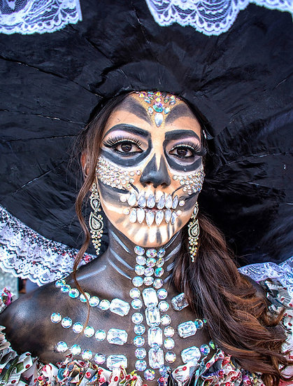 Beautiful Catrina's of Mexico, Ixtlahuacan N-209