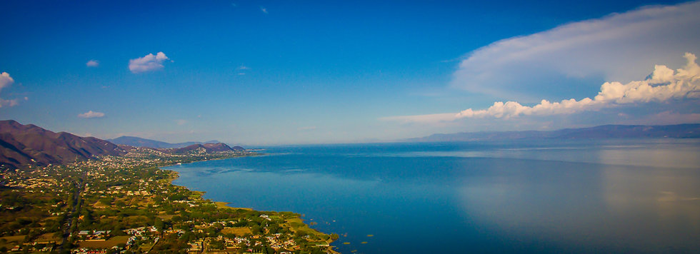 Lake Chapala, View to Ajijic A322