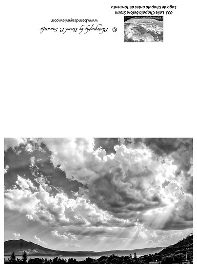 Before a storm / Antes de una tormenta 033