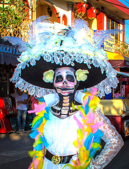 Beautiful Catrina's of Mexico, Ixtlahuacan N-210