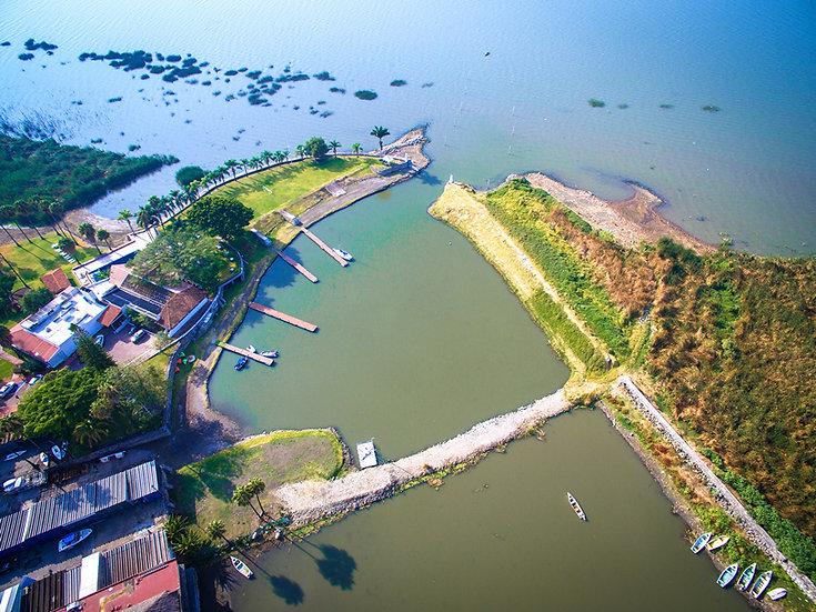Aerial Chapala / Vista aérea de Chapala 036-C8