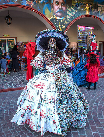 Beautiful Catrina's of Mexico, Ixtlahuacan N-206