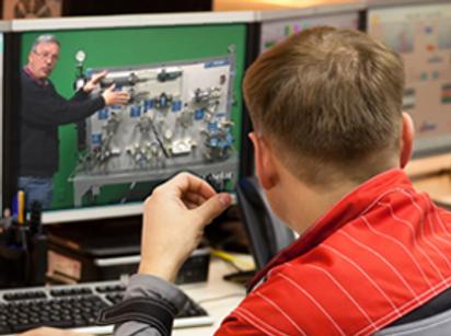 Online Hydraulic Training Hydraulic Trainers Industrial Hydraulics Online Training Hydraulic Trade School Electrical On-Site Training Industrial eLearning