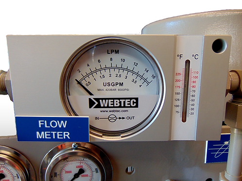 Replacement Flow Meter with Thermometer for Proportional Valve Test ...