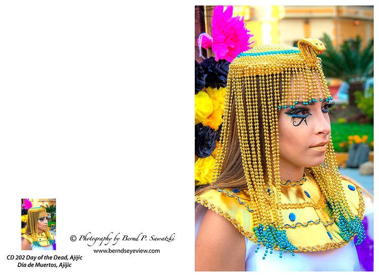 Cleopatra, Day of the Dead, Chapala / Cleopatra en el Día de los Muertos D-202