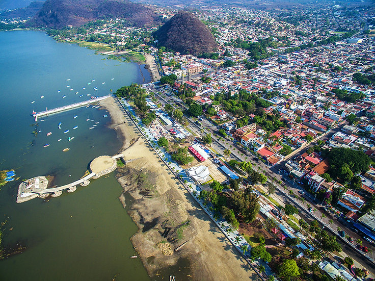 Aerial Chapala / Vista aérea de Chapala 037-C9