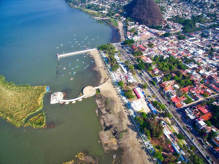Aerial Chapala / Vista aérea de Chapala 034-D9