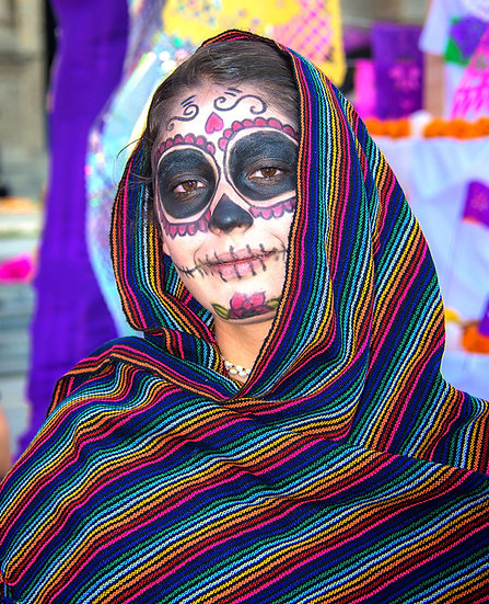 Beautiful Catrina's of Mexico, Ixtlahuacan N-214