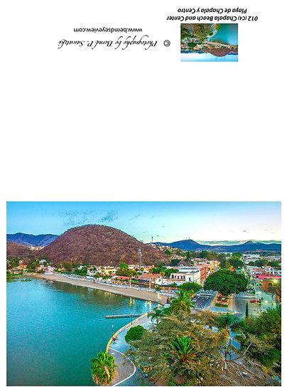 Chapala Bay and mountain /Bahía de Chapala y montaña 012-C4