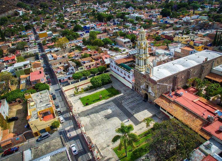 Aerial Chapala / Vista aérea de Chapala 041
