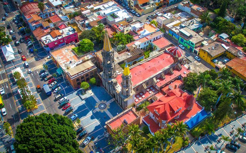 Aerial Chapala / Vista aérea de Chapala 038-D4