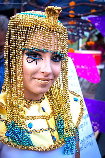Cleopatra, Day of the Dead / Cleopatra en el Día de los Muertos D-200
