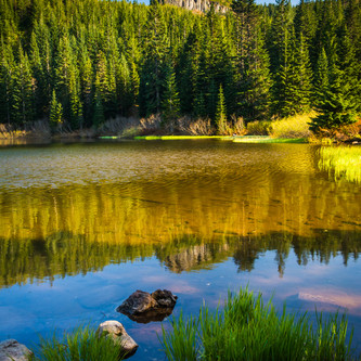 Mirror Lake, in Mount Hood National Fore
