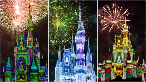 'Minnie's Wonderful Christmastime Fireworks' in Magic Kingdom Park
