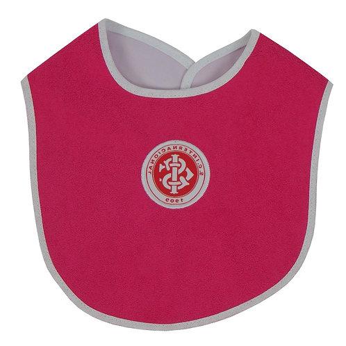 R.INT538B Babeiro Inter Rosa Para Bebê Babeiro Do Internacional Bebê