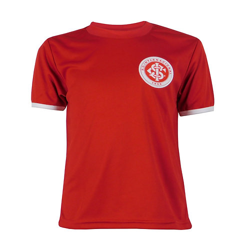 R.INT470I Camisa do Internacional Infantil Vermelha Em Dry  Licenciada