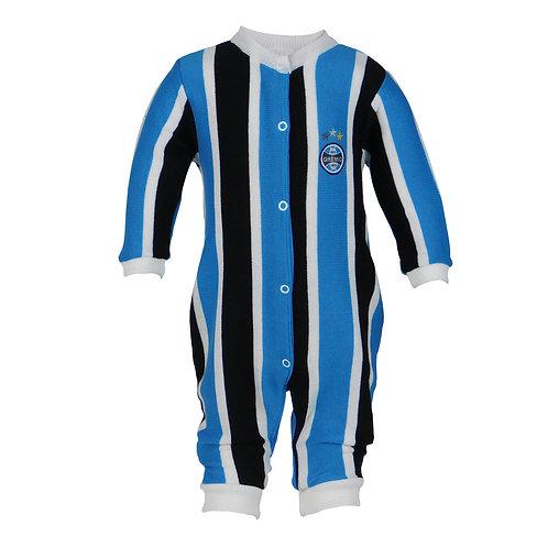 R.G537B Tip Top Grêmio Tricolor Roupa De Bebê Recém Nascido Tricolor