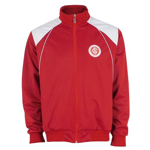 R. INT522 Casaco Inter Vermelho e Branco Jaqueta Internacional Masculina