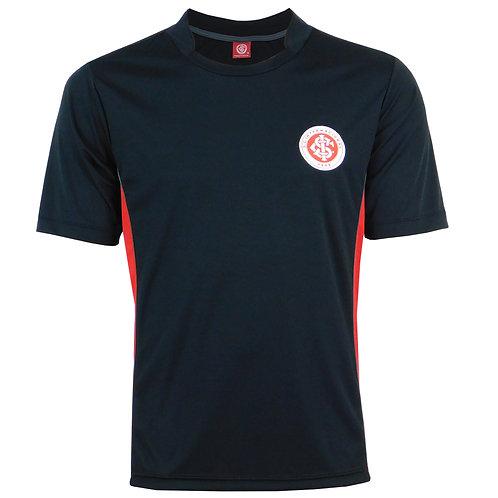 R.INT553 Camiseta Nova Inter Preta Em Dry Internacional Lançamento