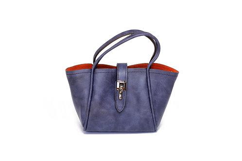 R.52541 Bolsa Feminina Pequena De Ombro Bolsinha Azul