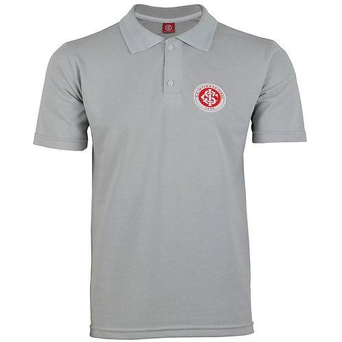 R.INT417 Camisa Gola Polo Do Internacional Cinza Polo Do Inter Do RS
