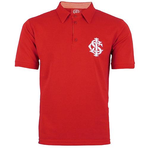R.INT448G Camisa Polo Internacional Tamanho Extra Grande Vermelha Inter